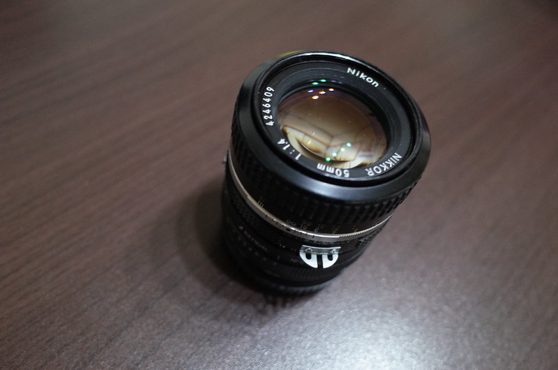 Ai NIKKOR 50mm f1 4+RAYQUAL NFG SαE