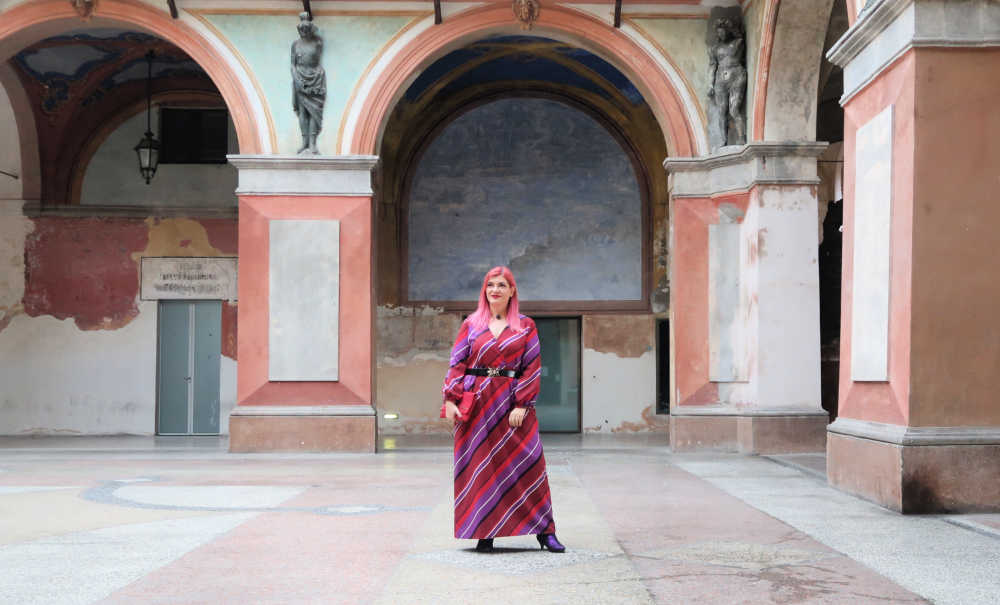 outfit viole e rosso (2)