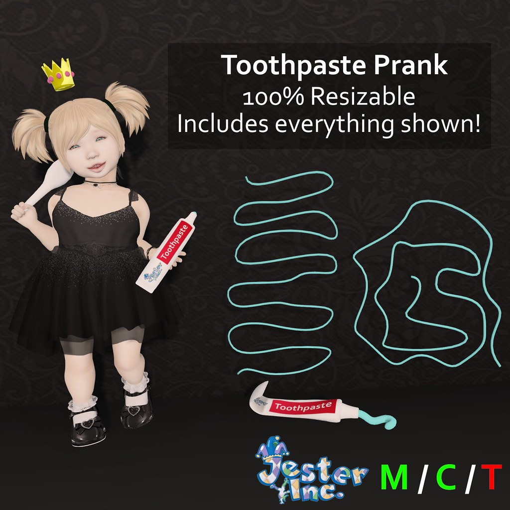 Presenting the Toothpaste Prank from Jester Inc.