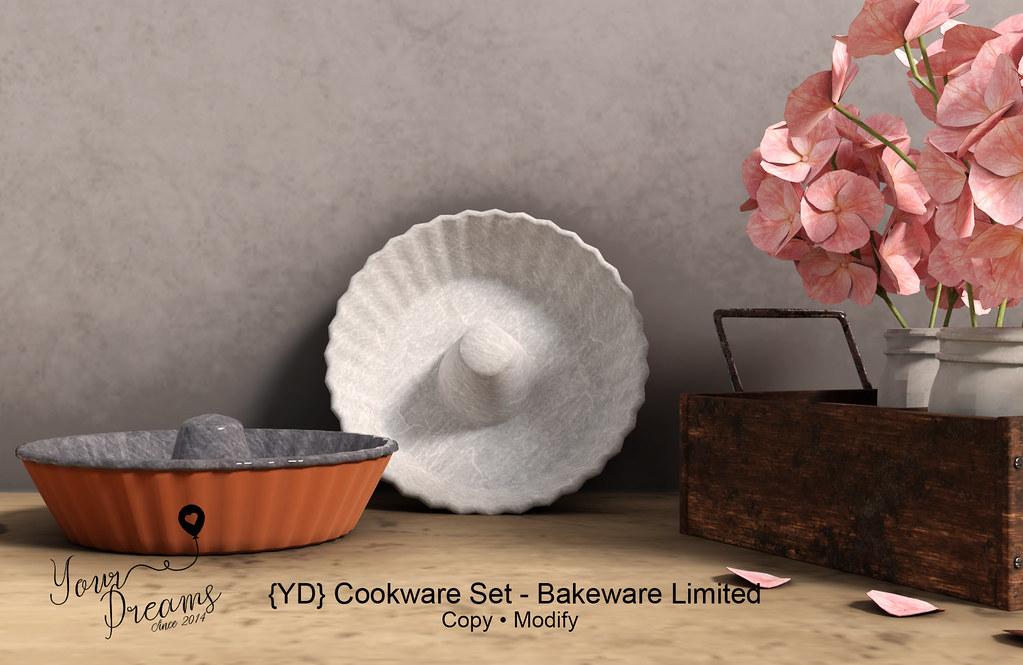 {YD} Cookware Set - Bakeware Limited - TeleportHub.com Live!