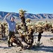 The height of me and cholla cactus by daveynin
