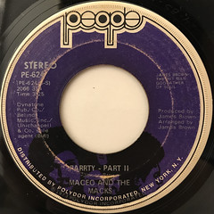 MACEO AND THE MACKS:PARRTY(LABEL SIDE-B)