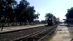 Pakistan Railways Mall train Gojra railway station