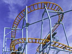 Undertow Spinning Roller Coaster Santa Cruz Beach Boardwalk 03