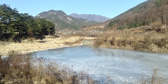 용유리 호롱소 겨울풍경