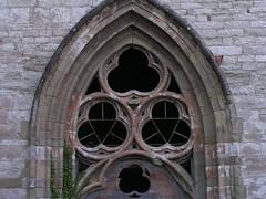 20080516 23638 0906 Jakobus Montbrison Kirche Fenster Dreifaltigkeit Bogen - Photo of Essertines-en-Châtelneuf