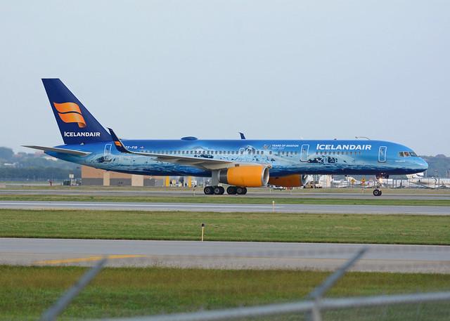 Icelandair Boeing 757 TF-FIR, Nikon D7100, AF-S Nikkor 80-400mm f/4.5-5.6G ED VR