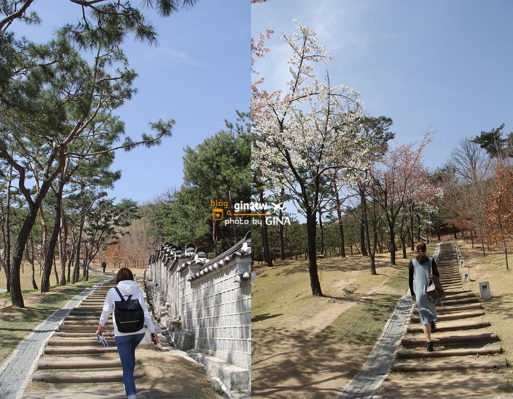 2020京畿道景點/賞櫻花》水原華城 UNESCO世界文化遺產(수원 화성 / 유네스코 세계문화유산)多部韓劇及電影拍攝地 @Gina Lin