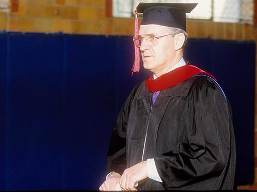 Gerig, Bill  missions prof   graduation 91