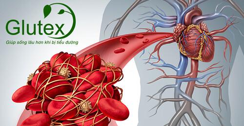 Bệnh tiểu đường làm tăng nguy cơ phát triển cục máu đông, gây bít tắc mạch máu