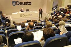 21/03/2019 - Presentación del nuevo Plan Estratégico Deusto 2022 de la Universidad en el campus de Bilbao a la comunidad universitaria