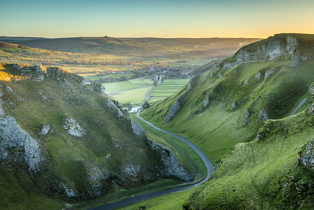 Winnats Pass Sunrise, Canon EOS M5, Canon EF-S 10-22mm f/3.5-4.5 USM