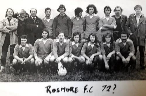 Rosmore F.C.1972 Thanks to Domo Cronin Ballyfermot Road for the photo