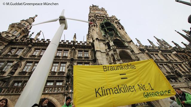 Kundgebung zum Ende der Kohlekommision