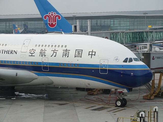 China Southern Airlines Airbus A380 B-6138
