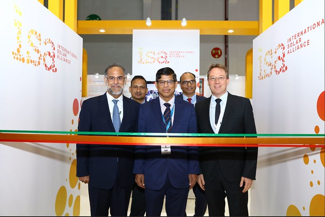 International Solar Alliance Forum at The World Future Energy Summit (WFES) 2019