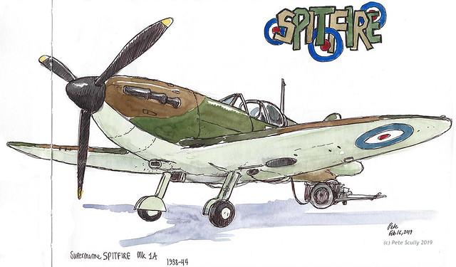 RAF Hendon Spitfire