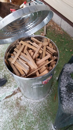 Bucket of Kindling