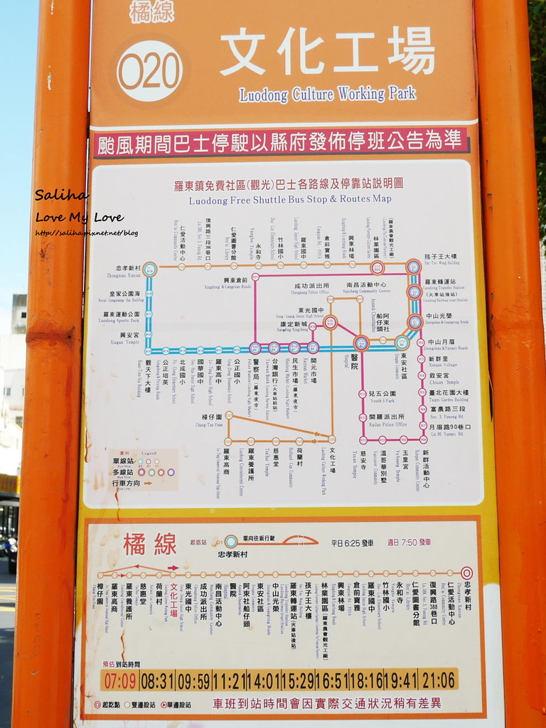 宜蘭羅東文化工場怎麼去公車交通資訊