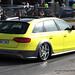 Yellow Chiquita Audi Allroad