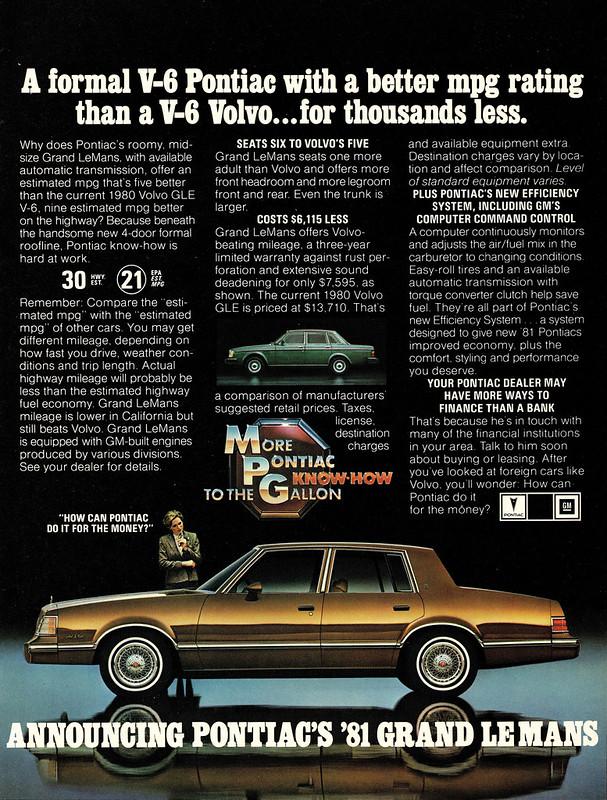1981 Pontiac Grand LeMans