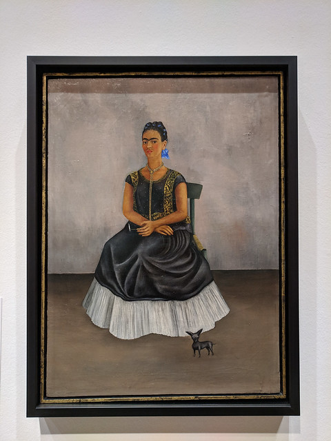 Itzcuintli Dog With Me by Frida Kahlo
