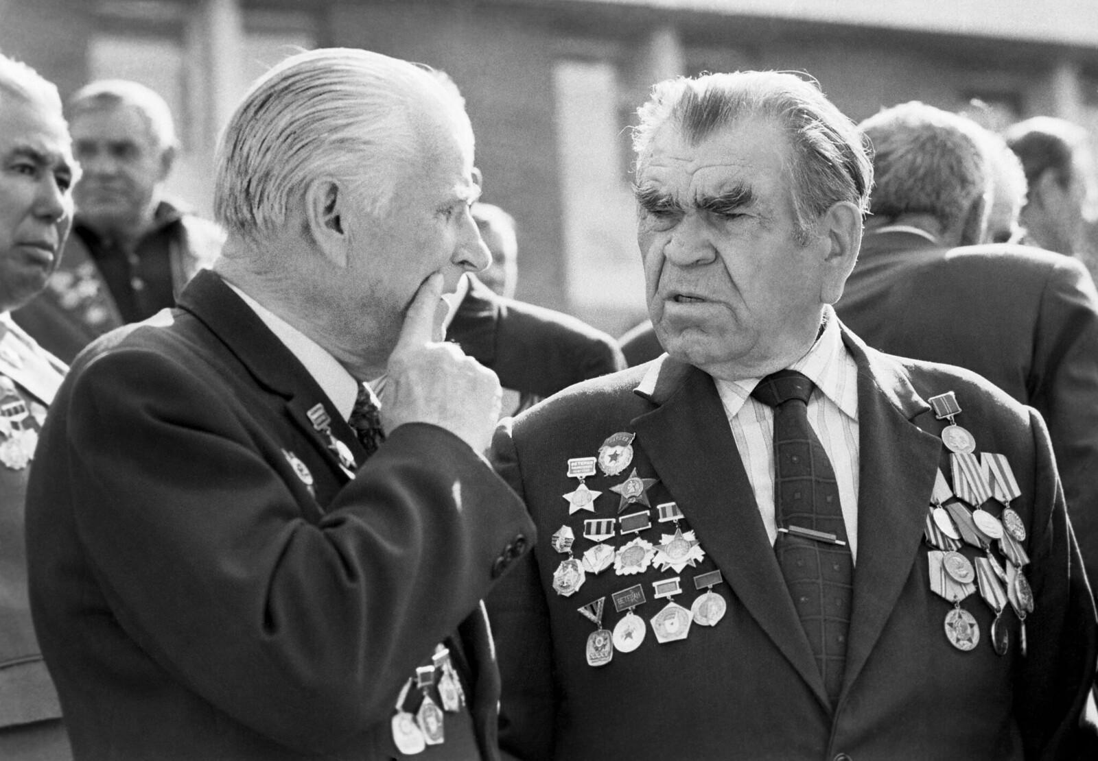 Алма-Ата. Ветераны войны 8-й гвардейской стрелковой дивизии имени Ивана Панфилова