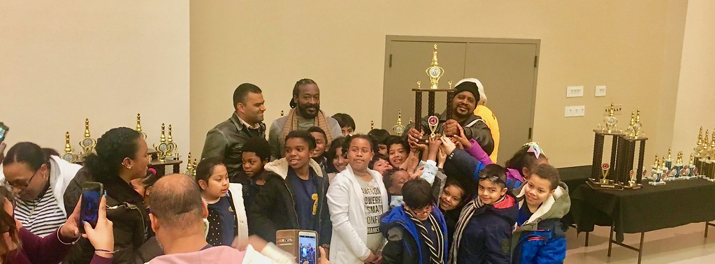 2019 NYS SCholastic Chess Championship Victory Celebration