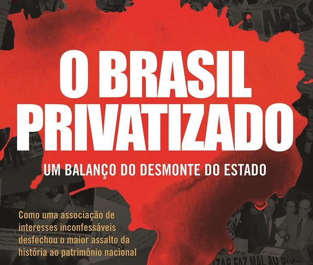 Livro completa vinte anos e tem sua atualidade renovada para entender processo privatista de governo Bolsonaro - Créditos: Reprodução