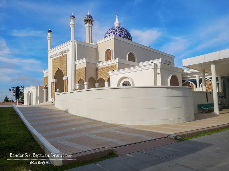 2019 Brunei Trip 04 Brunei International Airport Mosque