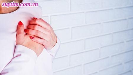 Đau thắt ngực là triệu chứng điển hình của bệnh mạch vành