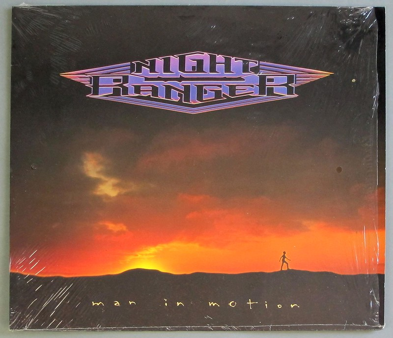 "NIGHT RANGER - Man In Motion 12"" LP VINYL"