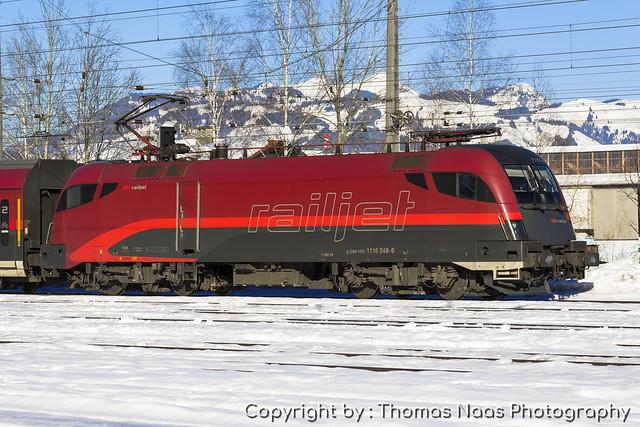 ÖBB, 1116 248-6 : RailJet