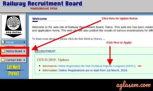 RRB NTPC 2019 Vacancies Increased
