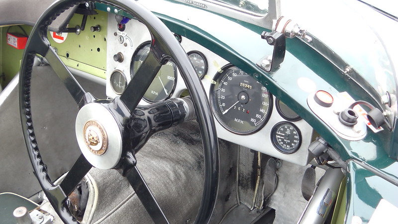 Jaguar type C - God save the cars 2019 32512380677_89d1938799_c