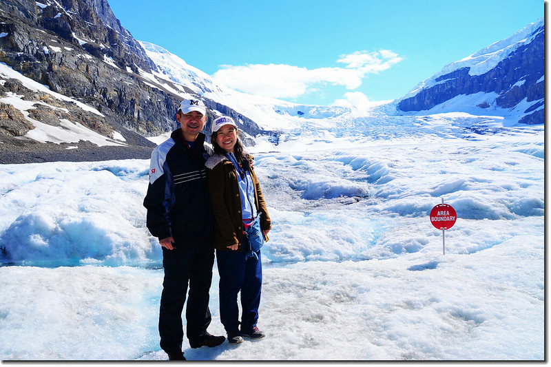 On Athabasca Glacier (5)
