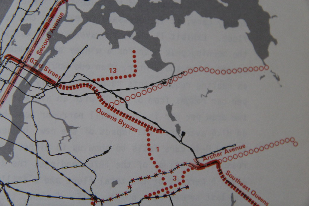 1977 Mta Subway Map.Power For The Mta Rpa 1977