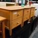 Solid hardwood locker E50