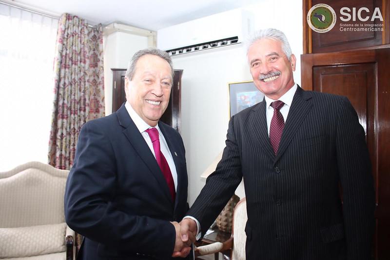 Reunión con el embajador de Rusia en Guatemala