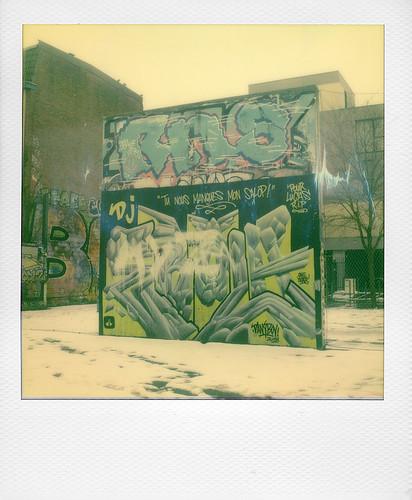 Graffiti at Wazemmes (Lille)