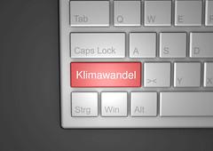 Klimawandel-auf-Tastatur