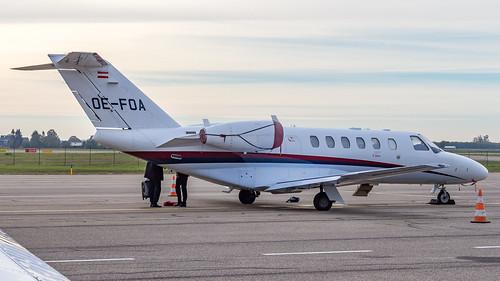 Cessna 525A CitationJet CJ2+ OE-FOA Avcon Jet