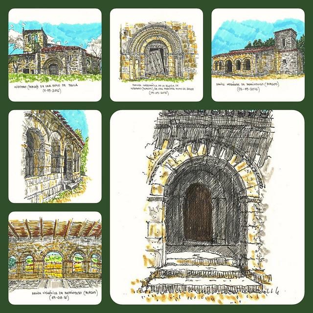 Dos lugares mágicos en Burgos : Huidobro y Barriosuso