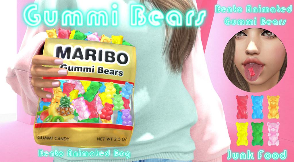 Junk Food – Gummi Bears Ad