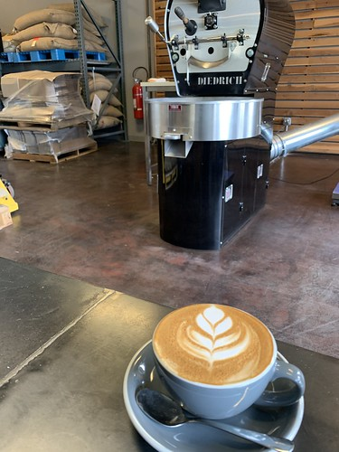 Flat white at Chocolate Fish Coffee | by ptrcktlln