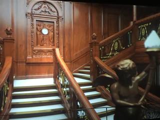 Recreación de las escaleras del Titanic (Belfast, Irlanda del Norte)