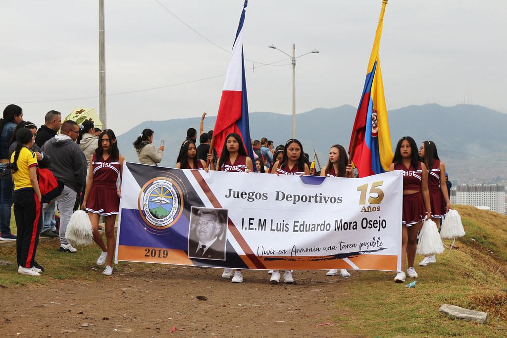 inauguración Juegos Intercursos 2019
