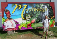 Martinique Welcome Sign