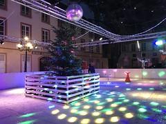 Eislaufbahn Saargemünder Weihnachtsmarkt