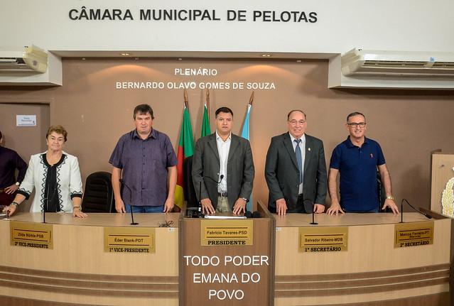 Sessão Solene de posse da nova Mesa Diretora